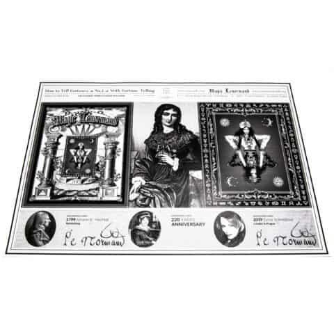 Tarjetas de lengüeta mágica, de lengüeta y de cubierta, de lengüeta mágica y de lectura, de lengüeta y de vagina (4)