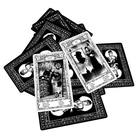 Cartes de l'oracle tsigane de Bohème I. Cartes d'Evina (1)