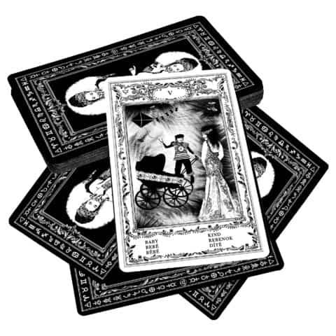 Cartes de l'oracle tsigane de Bohème I. Cartes d'Evina (8)