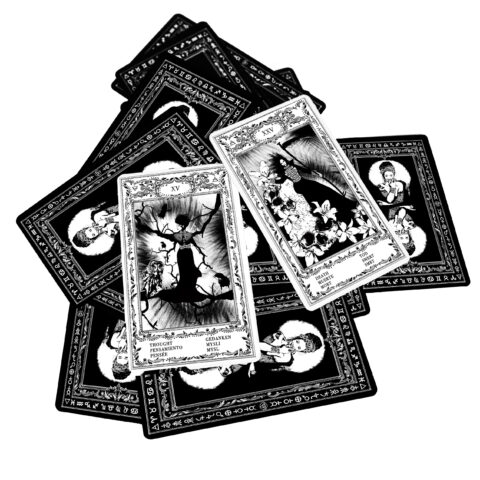 Cartes de l'oracle tsigane de Bohème I. Cartes d'Evina (9)