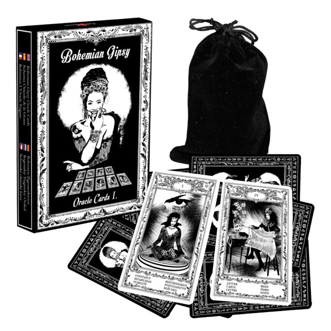 Böhmische Zigeuner Orakelkarten I. Evina Karten NEW
