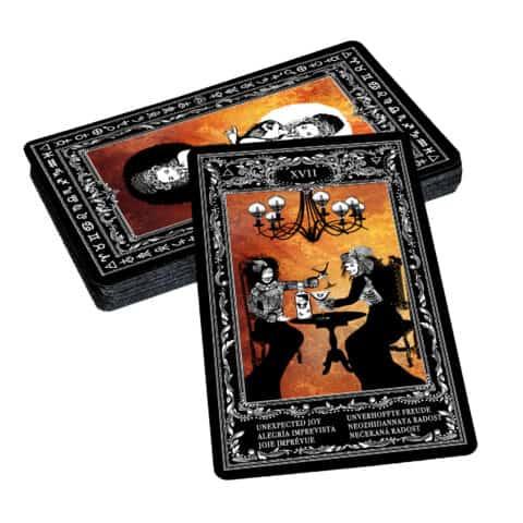 Böhmische Zigeuner Orakelkarten II. Evina-Karten (3)