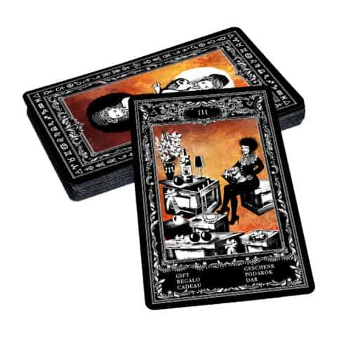 Böhmische Zigeuner Orakelkarten II. Evina-Karten (4)