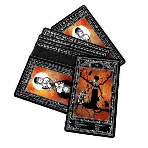 Böhmische Zigeuner Orakelkarten II. Evina-Karten (6)