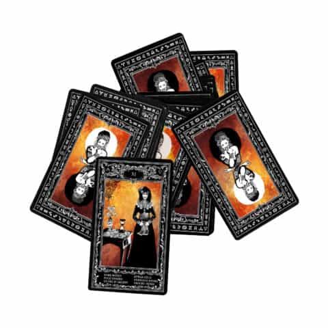 Böhmische Zigeuner Orakelkarten II. Evina-Karten (7)