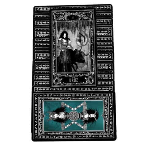 Déesse Freya Rune Cartes Cartes Evina (7)
