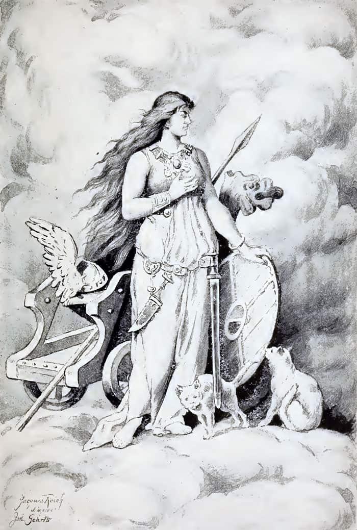 Rune-Cards-Goddess-Freya