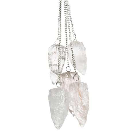 Crystal Quartz Raw Pendulum. Crystal pendulum. Divination pendulum. Protection pendulum. Magic pendulum. Pendulum crystal (4)