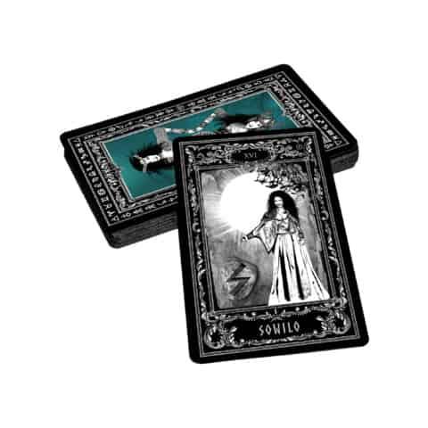 Déesse-Freya-Rune-Cards-25-Runes-Cards + 25-Rune-Stones-Evina-Cards-11