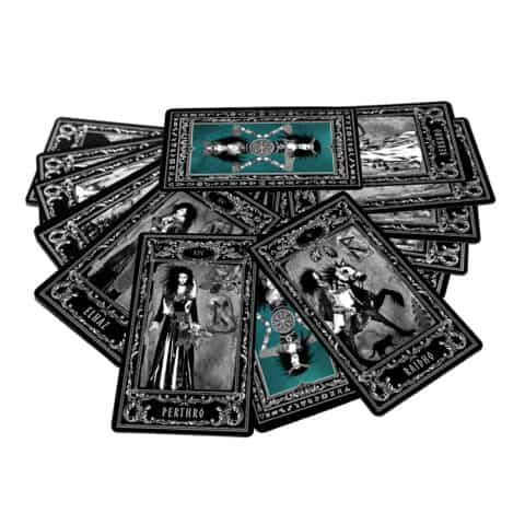 Déesse-Freya-Rune-Cards-25-Runes-Cards + 25-Rune-Stones-Evina-Cards-14