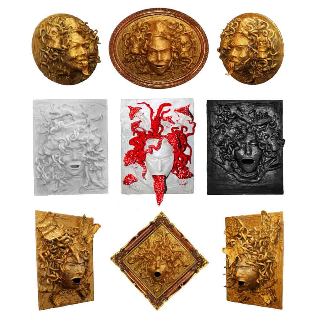 Original-wall-decor-Spiritual-Protector-Evina-Cards